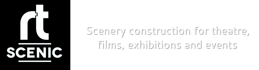 Scenery construction for theatre, film, exhibitions and events